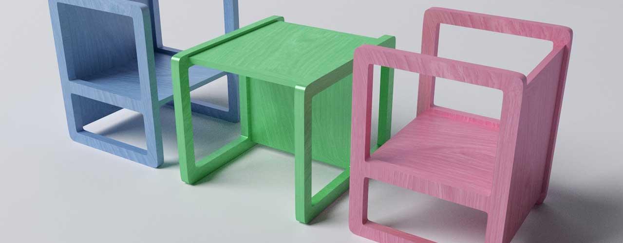 Las cinco mejores mesas y sillas infantiles