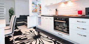 alfombras de cocina de vinilo