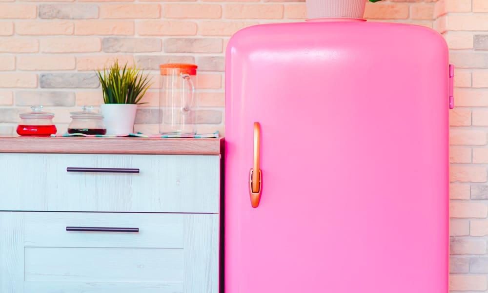 frigorifico vintage de estilo vintage